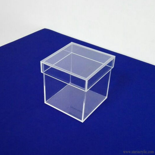 Clear Acrylic Gift Boxes for Wedding