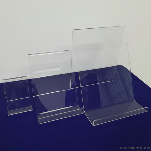 Clear Acrylic Book Display Stand Easel Display