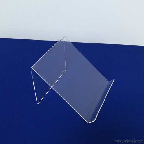 Clear Acrylic Easel Book Holder Rack Stand