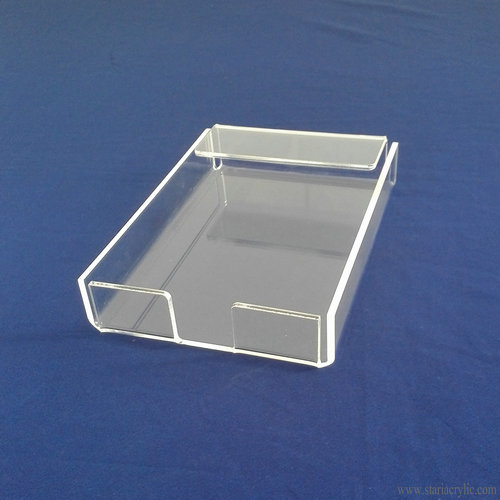 Clear Acrylic Notepad Holder