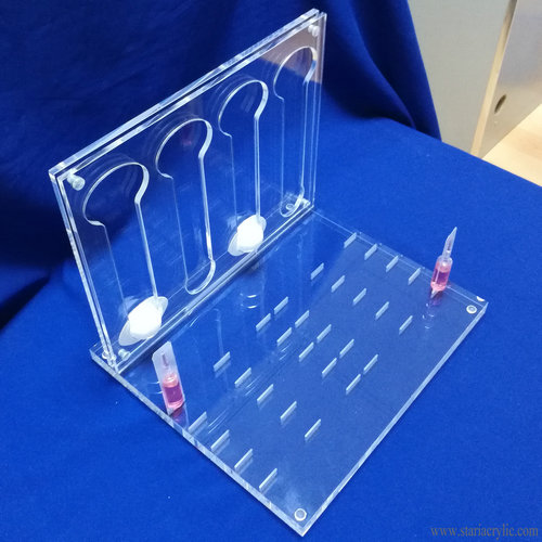 Acrylic Capsule Coffee Pod Display Holder Dispenser