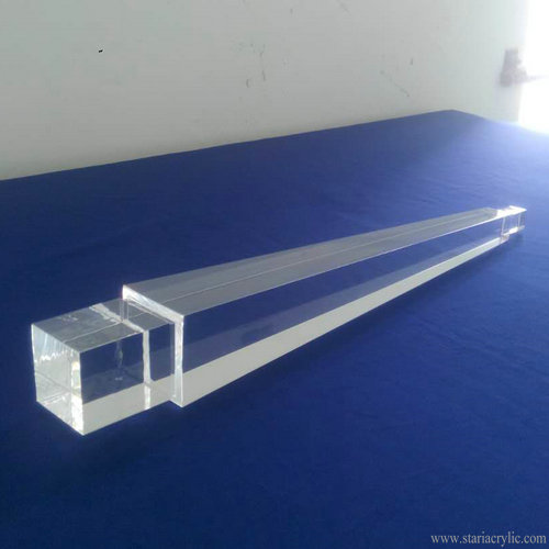 Acrylic Table Legs Clear Furniture Legs Set of 4 Acrylic Ottoman Legs