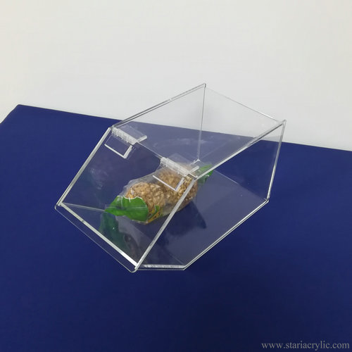 Acrylic Candy Cookie Snack Bread Storage Case Box