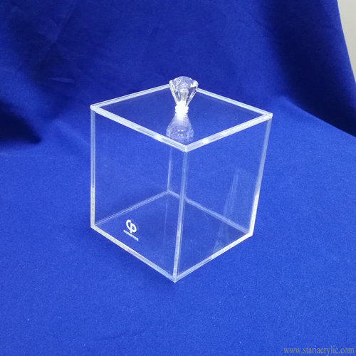 Clear Acrylic Display Box Candy Container Cosmetic Box