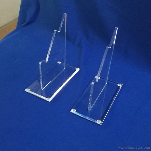 Acrylic Single Sword and Scabbard Display Stands