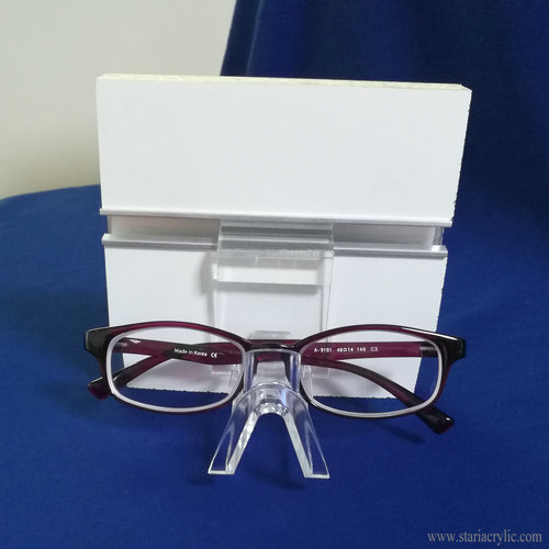 Single Slatwall Acrylic Eyeglass Sunglass Holder