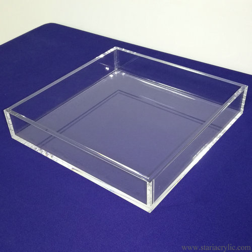 Clear Acrylic Luncheon Napkin Tray